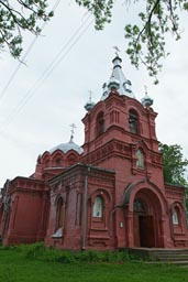 Russian country church.