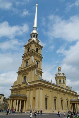 St. Peter and Paul cathedral, St. Petersburg.