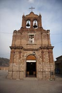Brick church on Lake Chapala.