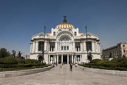 Palacio de Bellas Artes, DF Mexico City.