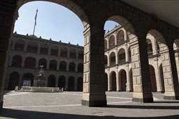 Arcased, Patio, National Palace, Mexcio City..