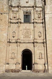 Facade of Santo Domingo de Yanhuitlan.