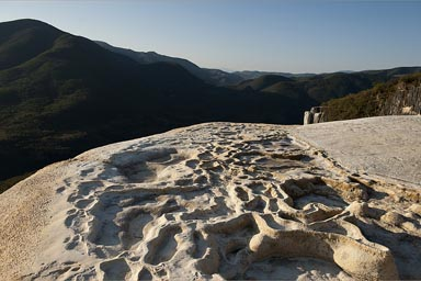 Early morning, Hierve de Agua.