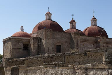Mitla, church of San Pedro.