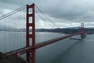 Shortly after, Golden Gate Bridge.