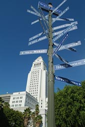 Cityhall, LA. Sister cities.