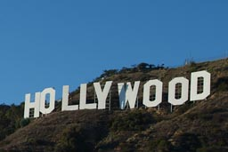 The sign Hollywood.