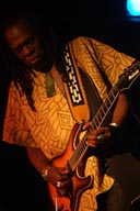 Larry Mitchell, guitarist.