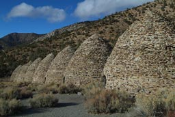 Charcoal kilns, Death Valley.