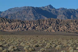 Mountains to east. Death Valley.