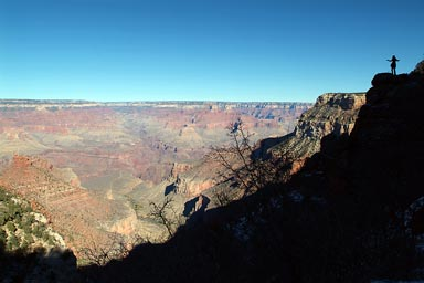 Finally back on top, southern rim Grand Canyon.