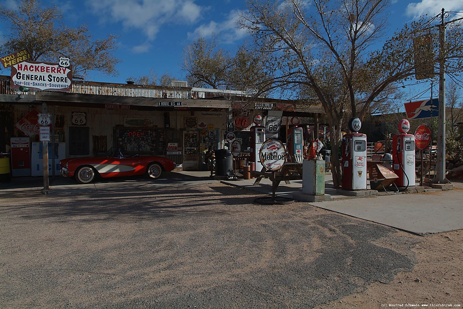 Hackberry Route 66 Photography and Journey Grand