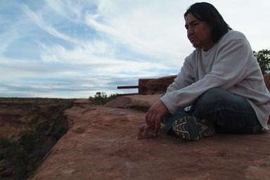 My friend Phil. Navajo.