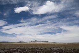 Altiplano, western Bolivia, clouds.