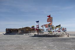 Salthotel on Uyuni Salare.