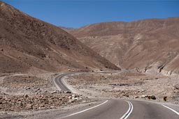 This is already part of Atacama desert.