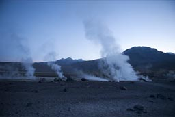 At the Geysers of Tatio.