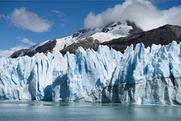 Part of Southern Patagonian Ice Field.