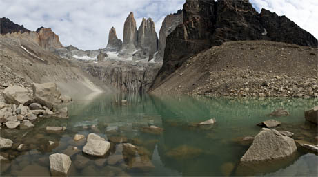 Panorama Photography, Torres del Paine.