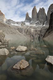 Los Torres del Paine, Chile. Paine (in Mapuche language) means blue sky.