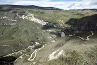 My road in Chachapoyas to Karajia.
