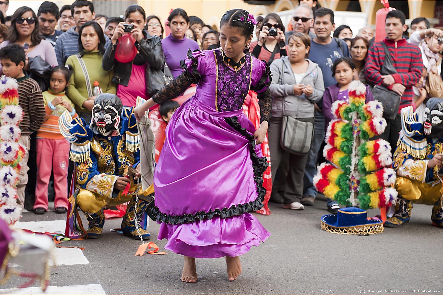 Lima Peru Independence Day 2012