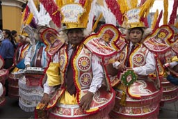 Independence Day in Peru, Lima parade.