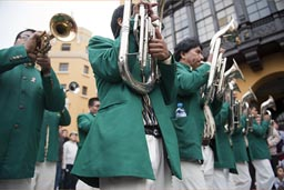 Brass on Independence Day, Lima, Peru.