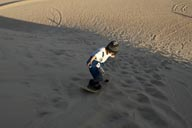And they are not doing bad at all, 5 years and on a sand board, Huacachina.